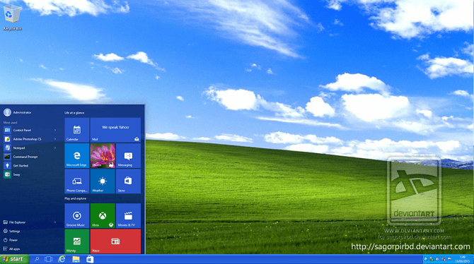 Tema Windows XP